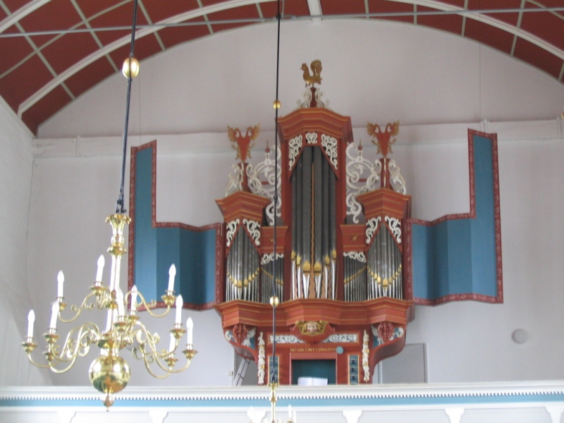 Uttum, DL organ from 1659